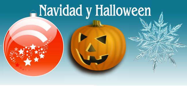 Navidad y Halloween